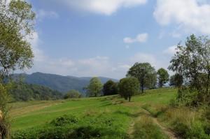 Górna część dawnej wsi Studenne